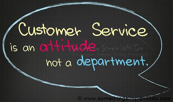 Wed Design Customer service