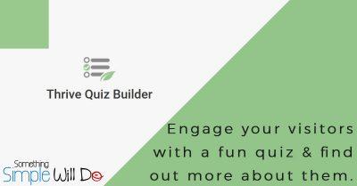 ThriveThemes Quiz Builder WordPress Plugin